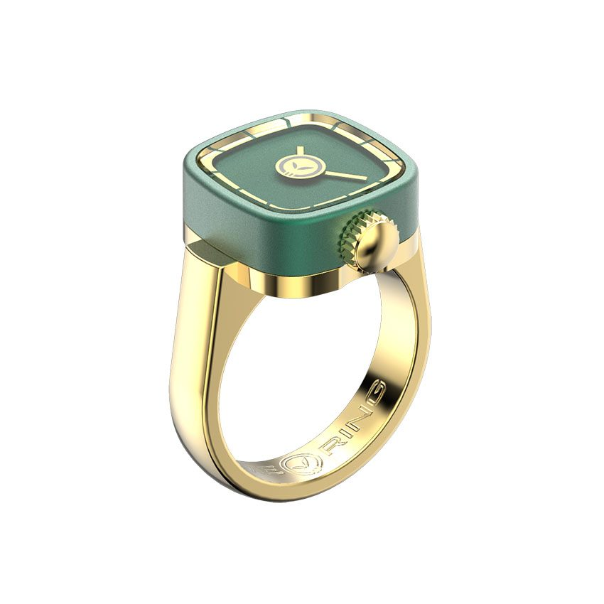 timering-4-yellow-gold-emerald-green-perspective